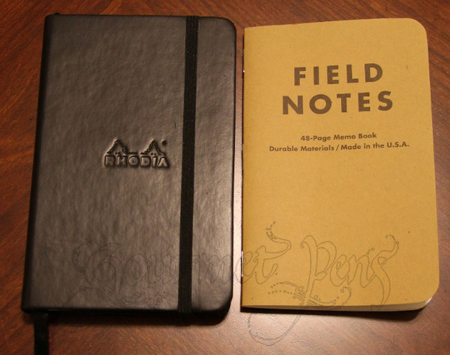 Field Notes vs. Rhodia Webbie A6