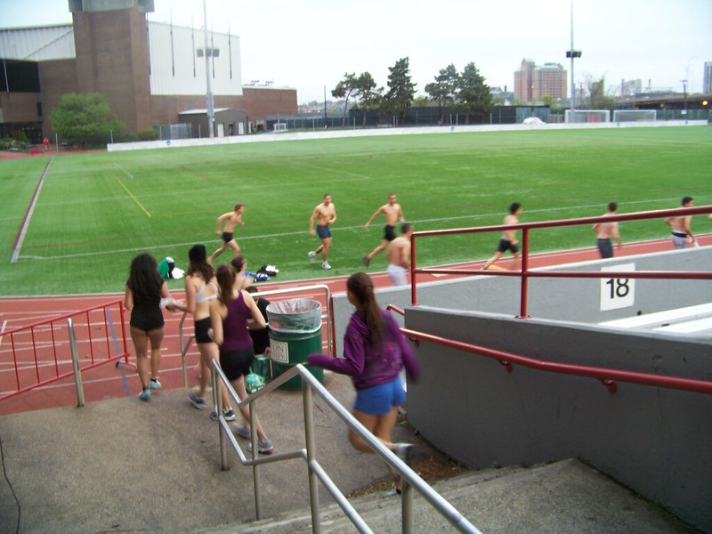 Nearly Naked Run @ Boston University