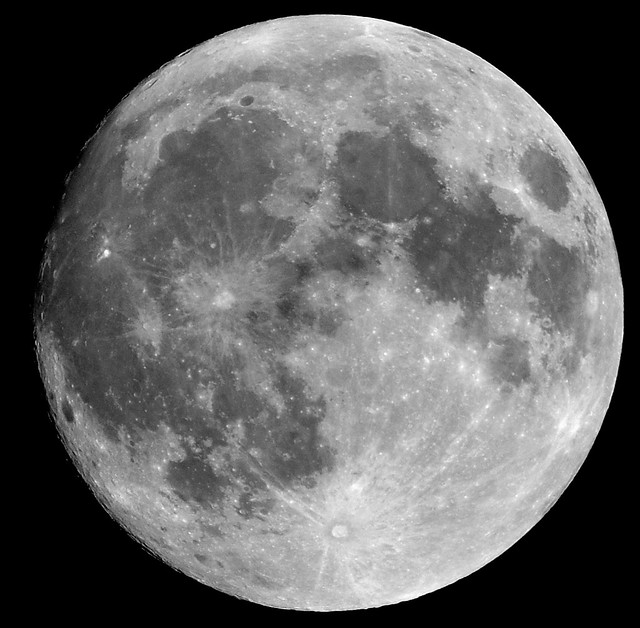 Almost Supermoon from Flickr via Wylio