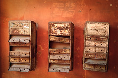 Old postboxes