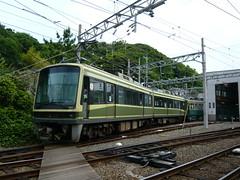 江ノ電2001F+1502F@極楽寺検車区