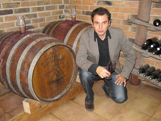 Sontacchi in his winery