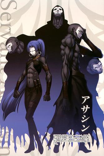 Assassin阵营:哈桑,fate zero,fate系列