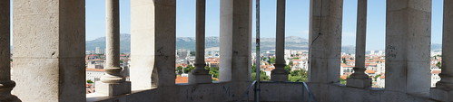 View from Bell Tower, Diocletian's Palace, Split, Croatia