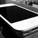 IPHONE 4S Black And White by sohail396