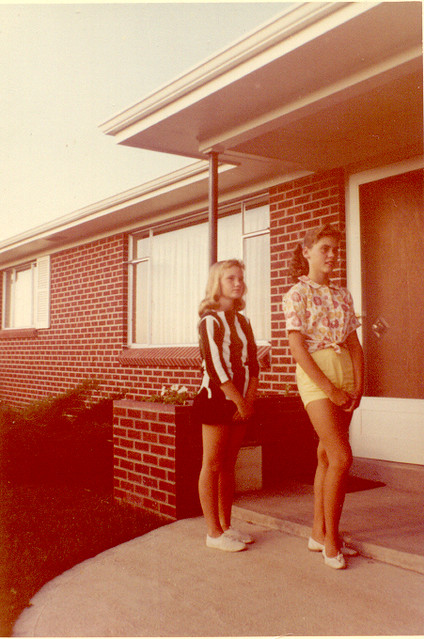 Teen Girls 1960 A Couple Of Cute Teenyboppers Wearing