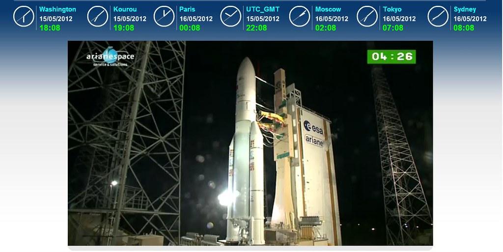 Lancement Ariane 5 ECA VA206 / JCSAT-13 + VinaSat-2 - 15 mai 2012 - Page 2 7205879896_5138f0f37f_b