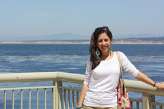 In Monterey, by the aquarium