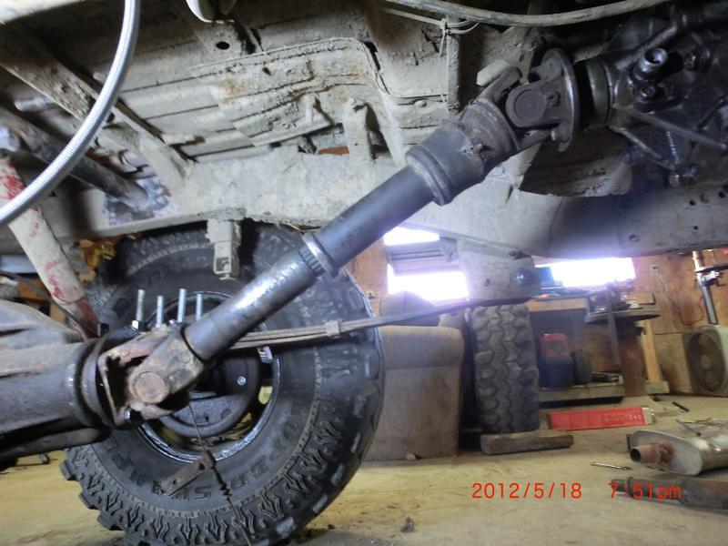 Suzuki Samurai Cv Driveshaft