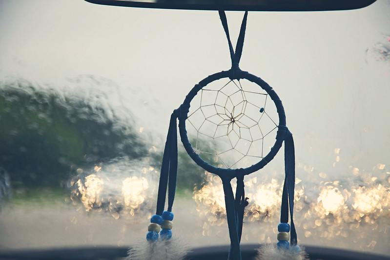 rainy dreamcatcher