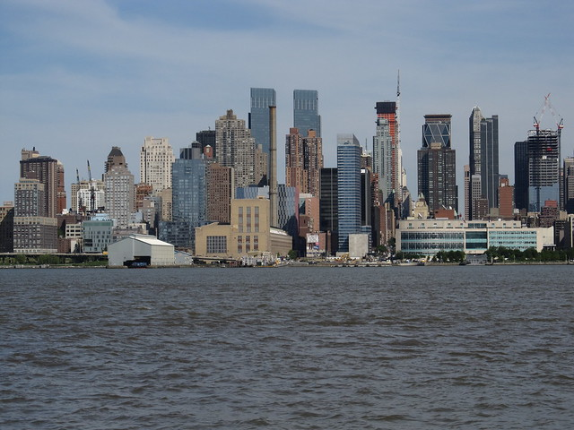 View of manhattan new york skyline from port imperial - Bus from port authority to jersey gardens ...
