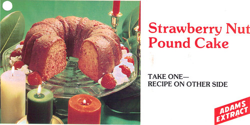 Strawberry Nut Pound