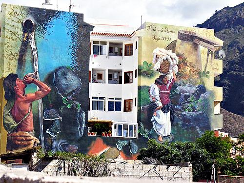 Street art, Adeje, Tenerife