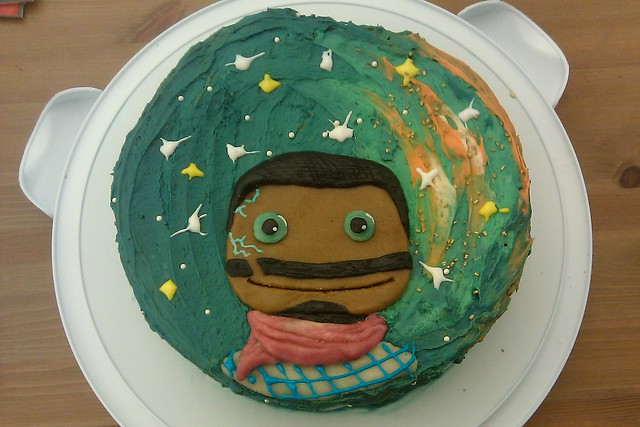 Starhawk Cake