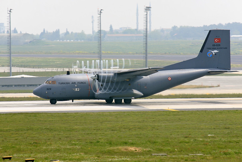 Transall C-160D  Turkey Air Force