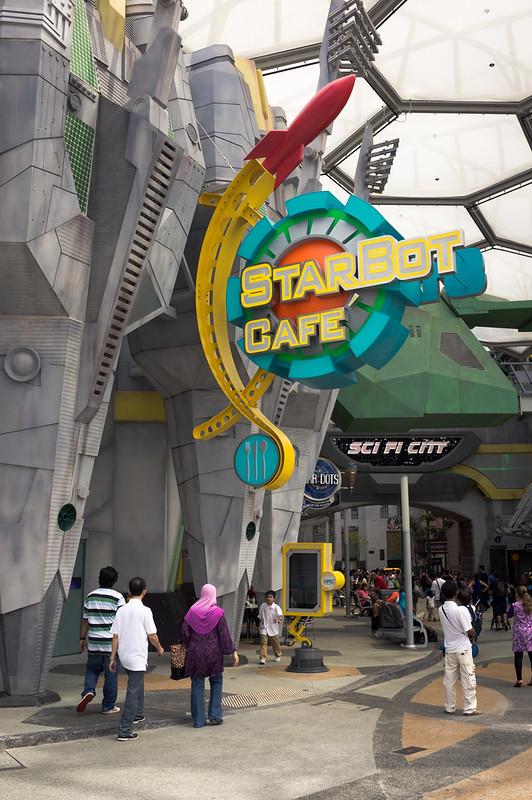 Starbot Cafe - New signage