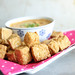 Crispy Tofu with Coconut Dipping Sauce