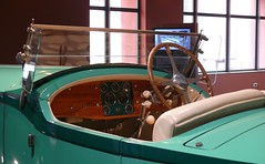 Bugatti Royale Roadster Armand Esders 1930 - 1990 green cockpit