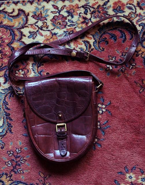 saddle bag mulberry <3