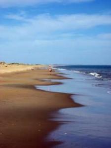 El Rompido cuenta con una playa virgen de 12 kilómetros.