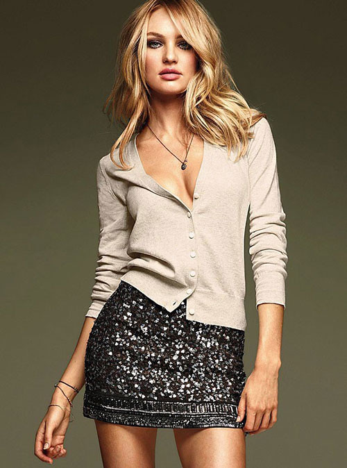 Victoria Secret Sequin Skirt