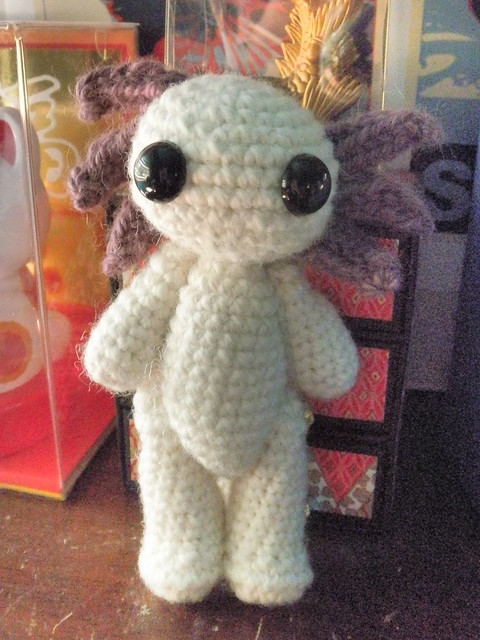 My Albino Axolotl Prototype 1