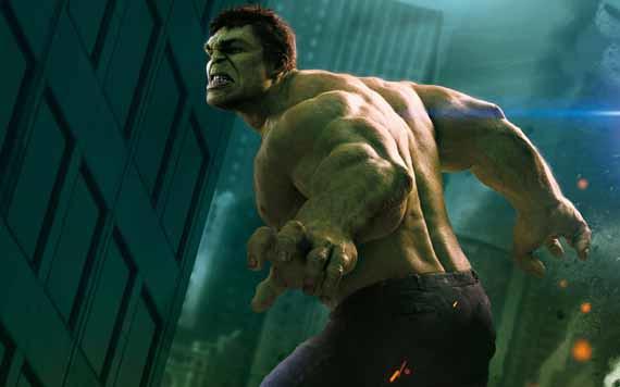 Vídeo del making off de Hulk en The Avengers