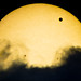 Transit Of Venus Over Clouds
