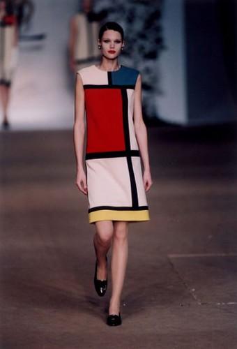 YSL Fall 1965 Mondrian