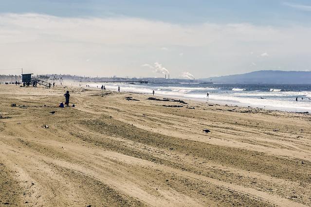 los angeles :: santa monica beach