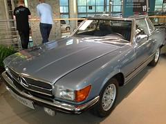 mercedes-benz 450sel 6.9(0.0), automobile(1.0), automotive exterior(1.0), vehicle(1.0), mercedes-benz r107 and c107(1.0), mercedes-benz(1.0), antique car(1.0), classic car(1.0), land vehicle(1.0), luxury vehicle(1.0), coupã©(1.0),