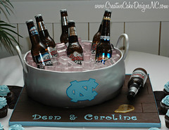 Beer Groom's Cake