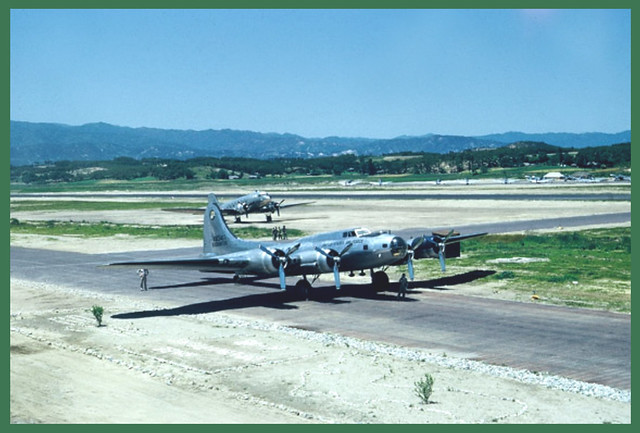 18 -- B-17 and C-47 at Kangnung Korea - (NMP) Date and Photographer ...
