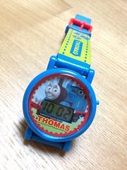 トーマスの腕時計