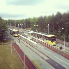 Oldham Mumps Metrolink station
