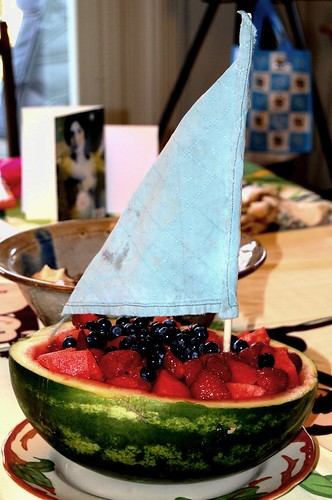Watermelon boat