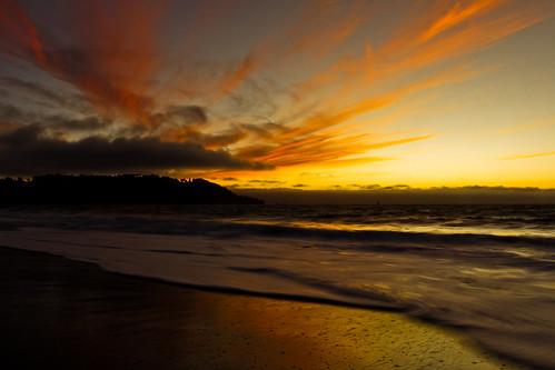 ocean sf california ca sunset red sea orange cloud water beautiful june canon dark lens eos nice san francisco raw salt bubbles explore 25 l swirl 100 mm 1740 2012 353 166 165 50d