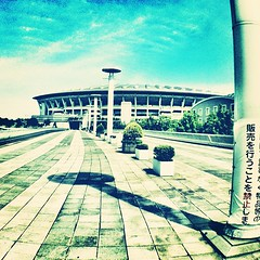Nissan Stadium #olloclip #wideangle