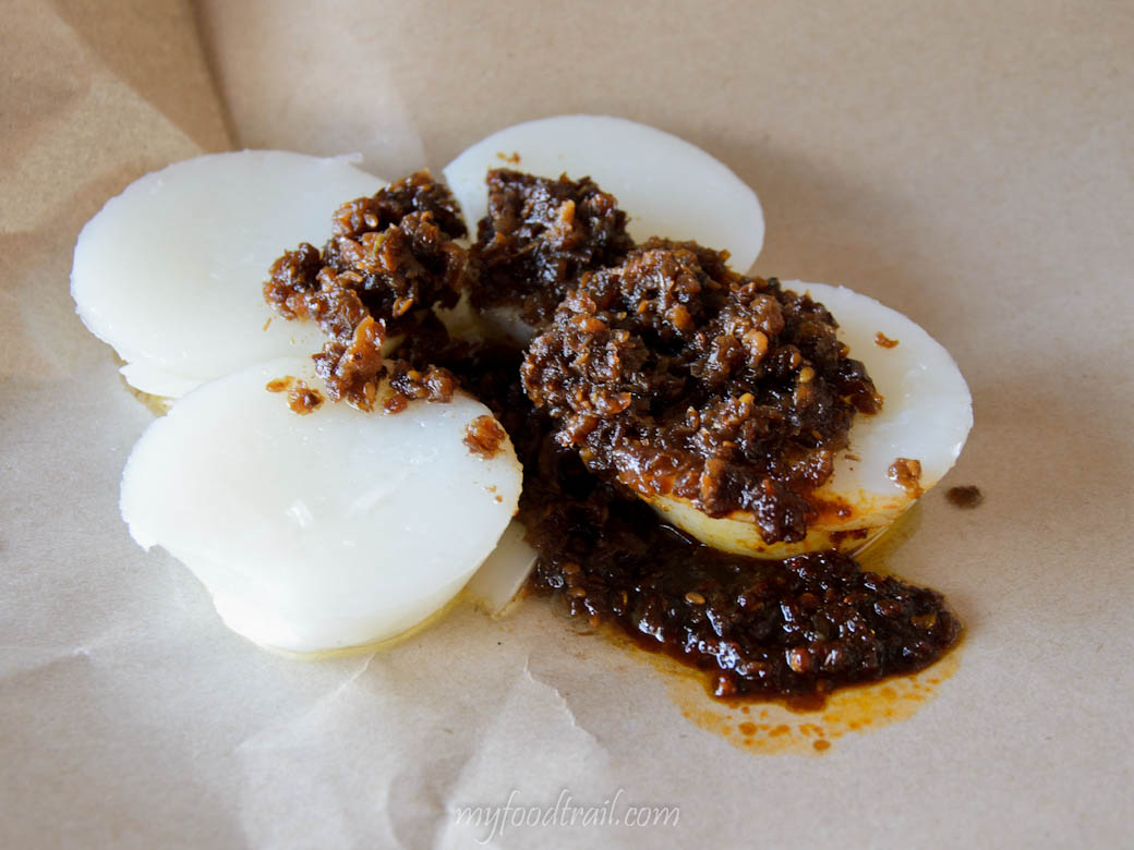 Singapore Hawker Food - Tiong Bahru chwee kueh