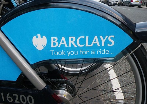 BARCLAYS BIKE by Colonel Flick