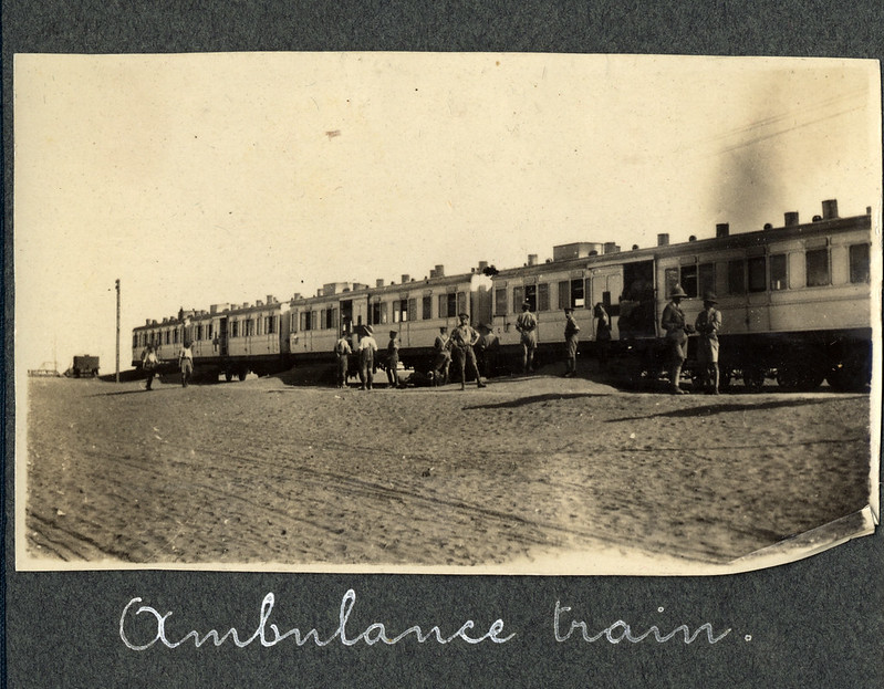 An Ambulance train