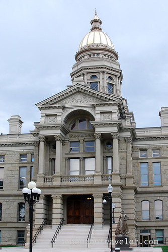 The Wyoming State House in Cheyenne