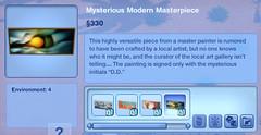 Mysterious Modern Masterpiece 4