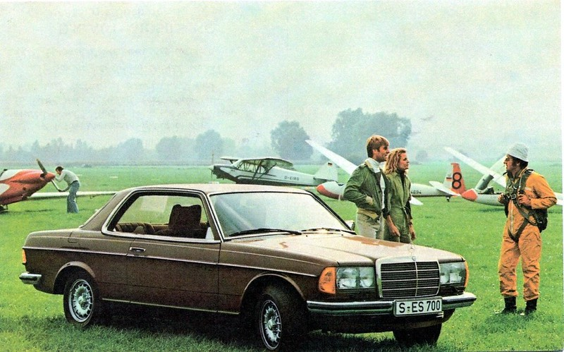 1979 Mercedes-Benz 230/280 Coupe