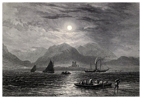 011- Entrada al estrecho de Menai-Wanderings and excursions in North Wales (1853)- Thomas Roscoe