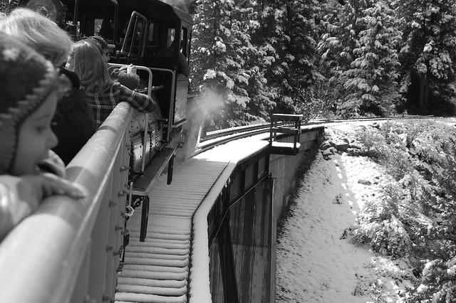 Devils Gate High Bridge - Georgetown Loop Railroad