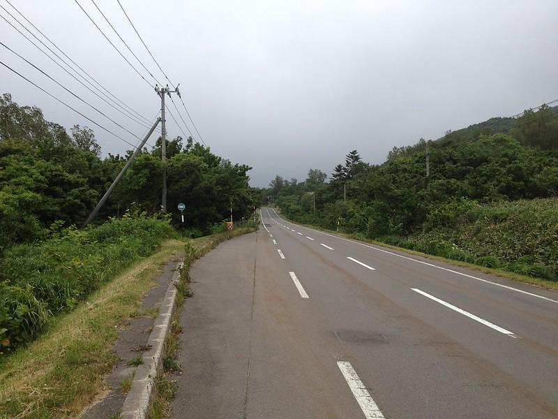 寿都への道