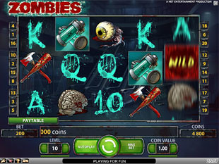 Zombies slot game online review