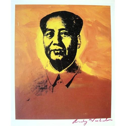 Mao Tse Tung - Andy Warhol