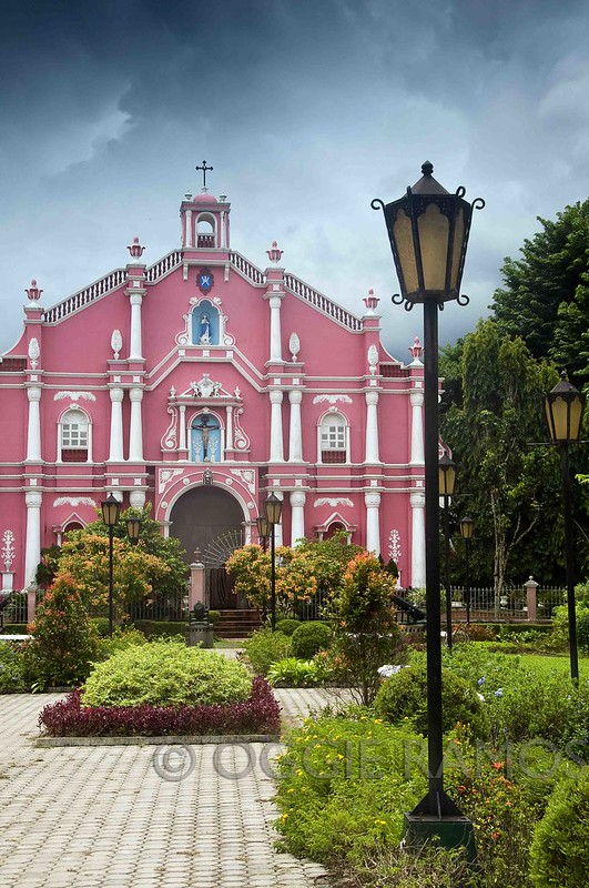 Villa Escudero Pink Museum and Grey Clouds III